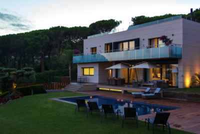 Stunning furnished house with sea views on Maresme Coast near Barcelona